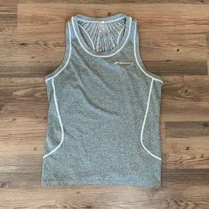 Brooks Gray Running Tank Top in Perfect Condition